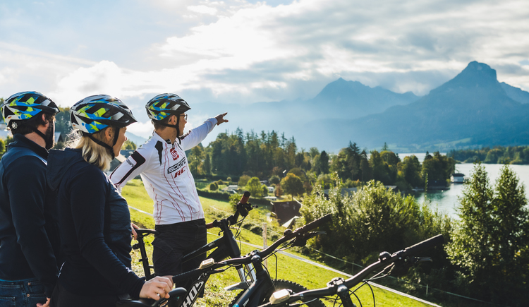 E-Bike Tour Wolfgangsee (© Hotel Peter)