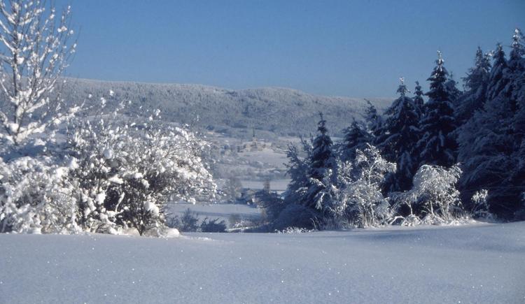 Winter in Ulrichsberg (© Ferienregion Böhmerwald)