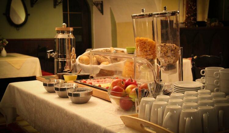 Frühstück (© Gasthof zum grünen Baum)