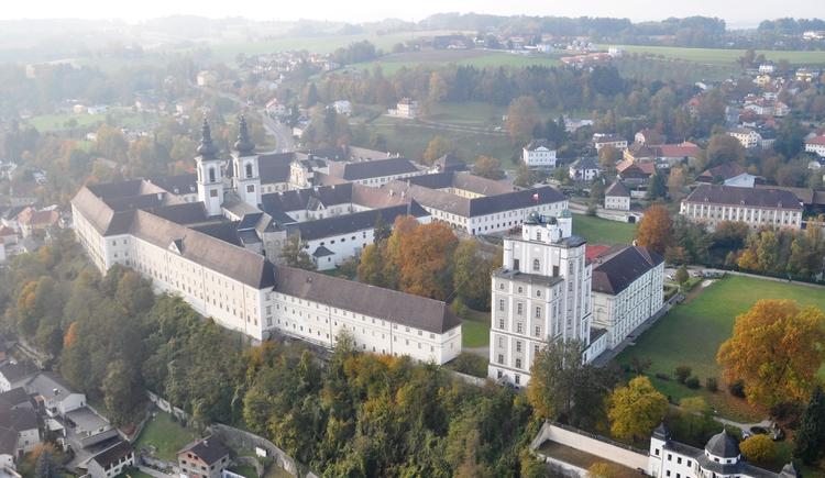 Stift und Markt Kremsmünster. (© Marktgemeinde Kremsmünster)