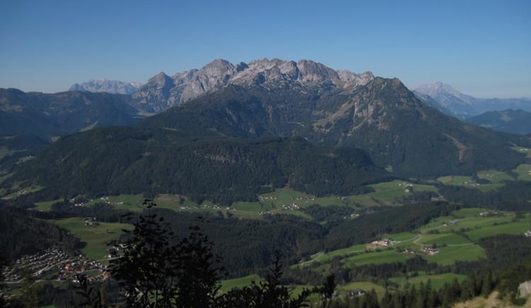 Ausblick ins Tal (© Gisbert Rabeder)