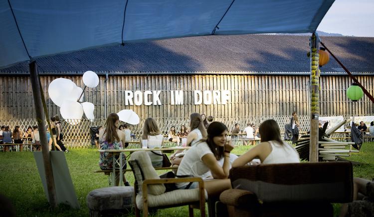 Rock im Dorf Festival. (© Doris Meixner)