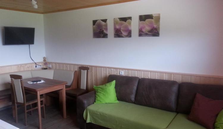 Wohnbereich mit Küche Ansicht 2
