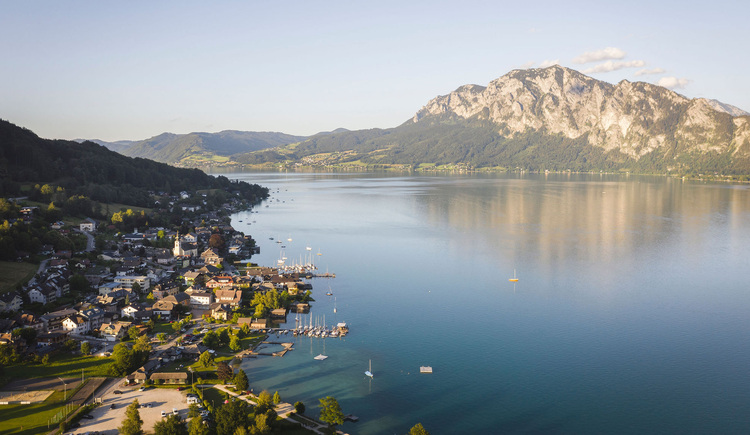 Unterach am Attersee. (© TVB Attersee-Attergau/Moritz Ablinger)