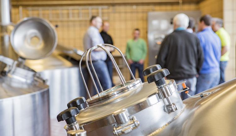 Führung durch die Brauerei Ried (© Brauerei Ried)