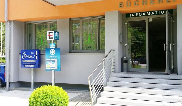 Eingang zum Tourismusbüro Ebensee (© Tourismusbüro Ebensee)