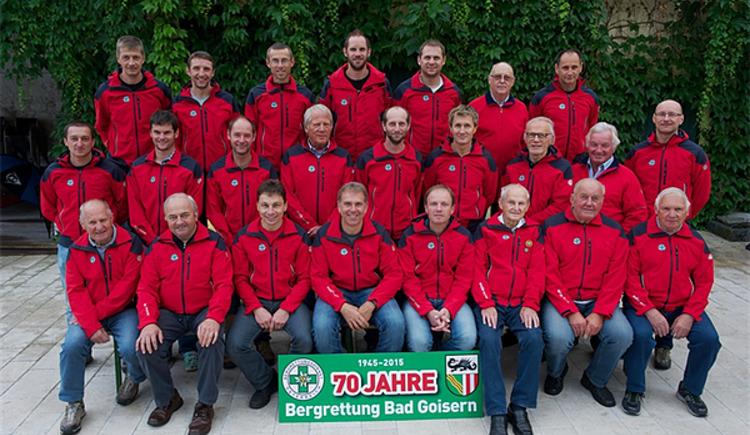 Die Bergrettung Bad Goisern hat zahlreiche engagierte und qualifizierte Mitglieder. (© Bergrettung Bad Goisern, Foto Kern Michael)