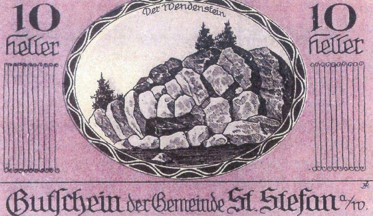 Der Wendenstein wurden schon immer als geheimes Wahrzeichen von St. Stefan gesehen. (© Madlmayr Franz)