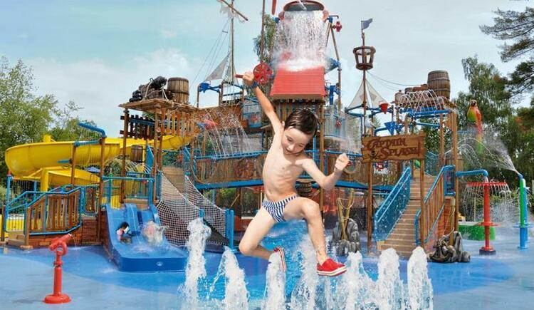 Captain Splash in der Piratenwelt (© EurothermenResorts)