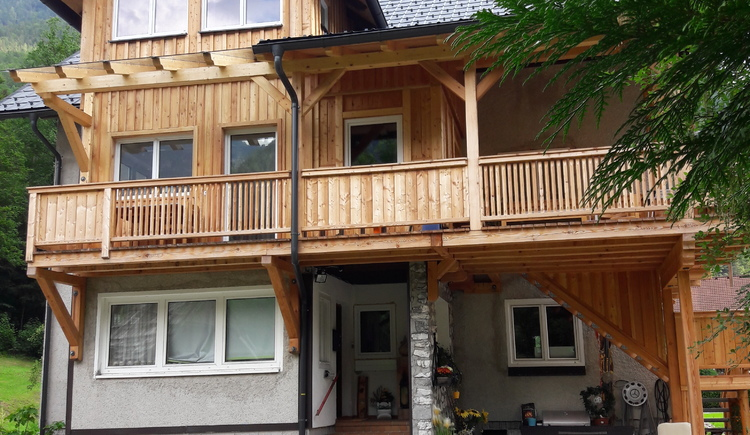 Front Ansicht des Appartement Sandra