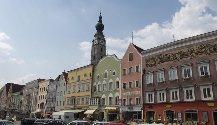 Braunau_Marktplatz_2 (© TTG Tourismus Technologie)