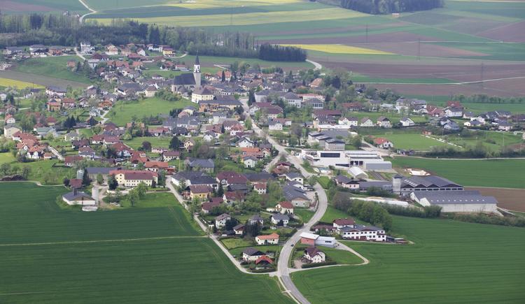 Luftbild Ohlsdorf (© Gemeinde Ohlsdorf)