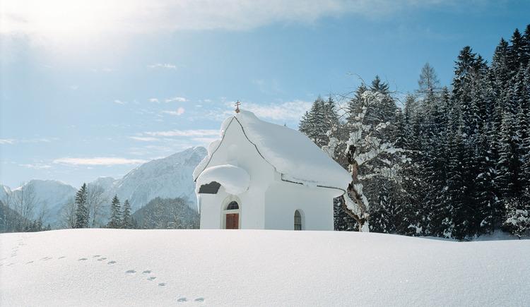 Kapelle Hinterstoder (© TVB Pyhrn-Priel/Bruno Sulzbacher)