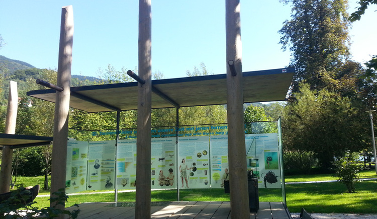 Pfahlbau Pavillon Attersee am Attersee Salzkammergut. (© Gerald Egger)