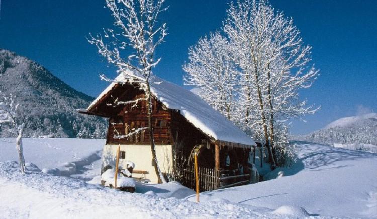 Waschl-Mühle im Ort. (© Tourismusverband Ebenau)