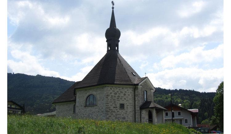 Blick auf die Filialkirche in Loibichl. (© www.mondsee.at)