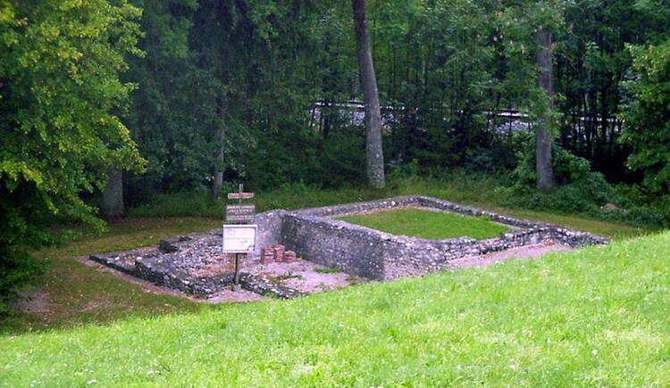 Ausgrabungsstätte Villa Rustica (© R. Neuhauser)