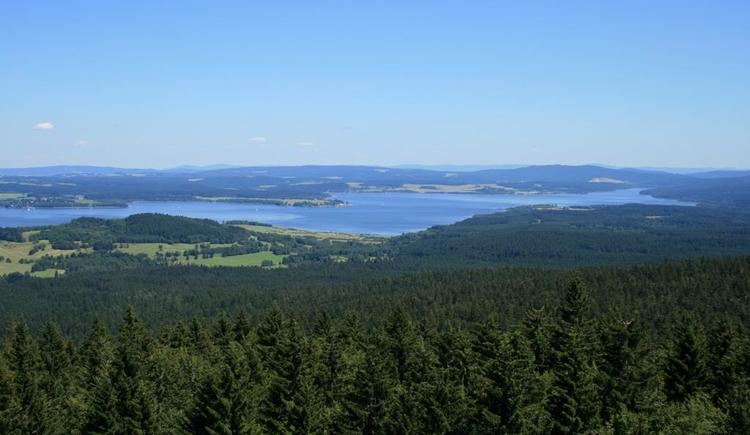 Moldaublick (© Ferienregion Böhmerwald)