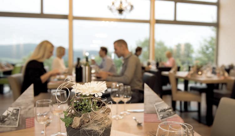Aldiana Club Ampflwang Panoramarestaurant.