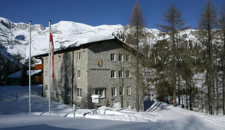 Jugendhaus im Winter (© Land OÖ/Linschinger)