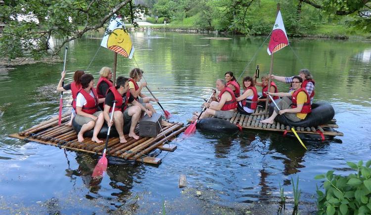 Floßfahrt mit Schatzsuche (© Abenteuer Management)