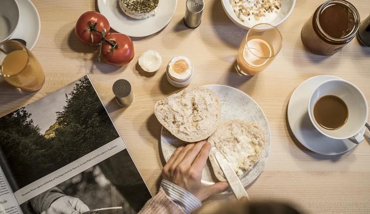 Frühstück im Böhmerwaldlerdorf (© Ramenai Das Böhmerwaldlerdorf)