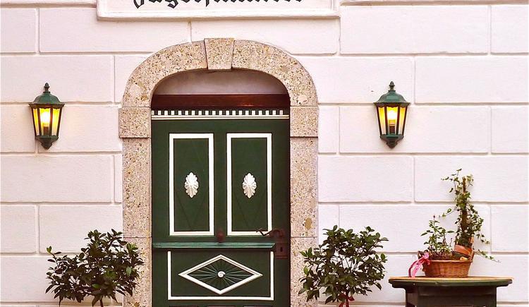 Eingang (© Andrea Bergbaur)