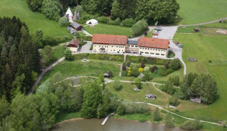 Mühl-Fun-Viertel aus der Luft fotografiert (© Privat)