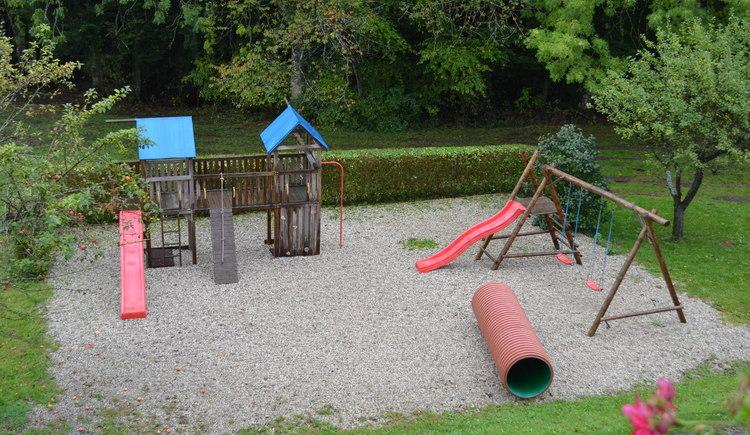 Gasthof Rohrmoser Sauerei, Waldzell, Spielplatz. (© Rohrmoser)