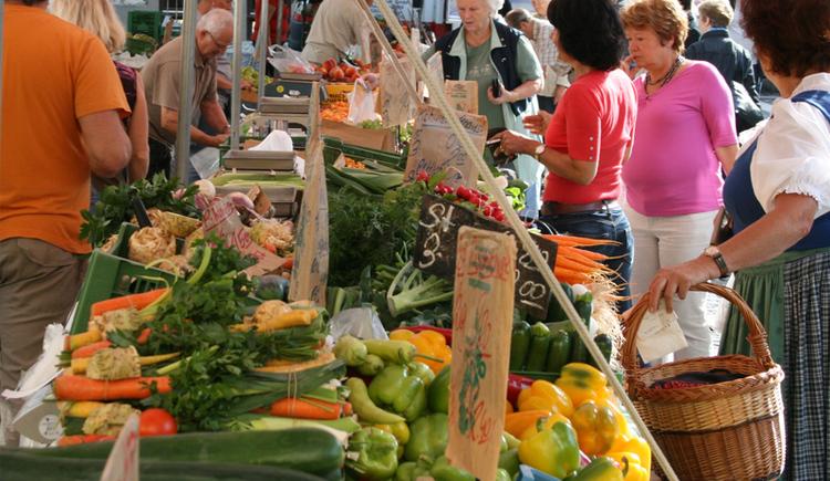 Wochenmarkt in Bad Ischl. (© Tourismusverand Bad Ischl)