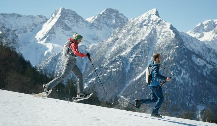 Schneeschuhwandern (© OÖ Tourismus GmbH/Robert Maybach)