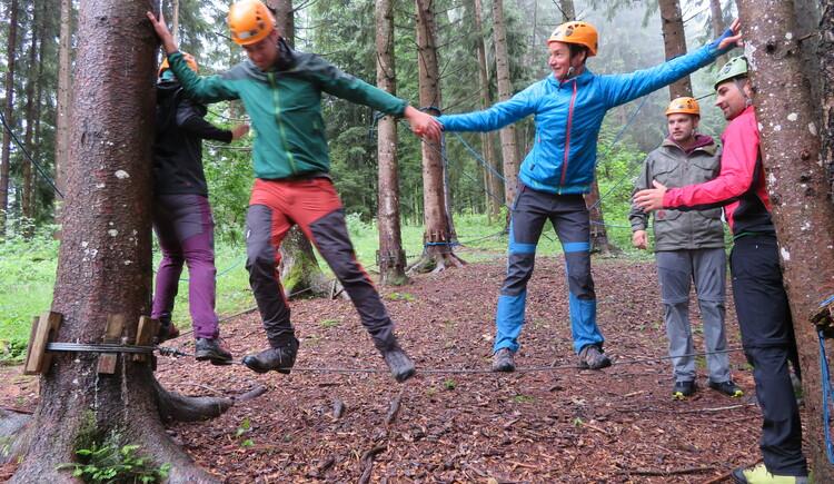 teamPaket Mohawkwalk (© pyhrnPriel-erlebnisagentur GmbH)