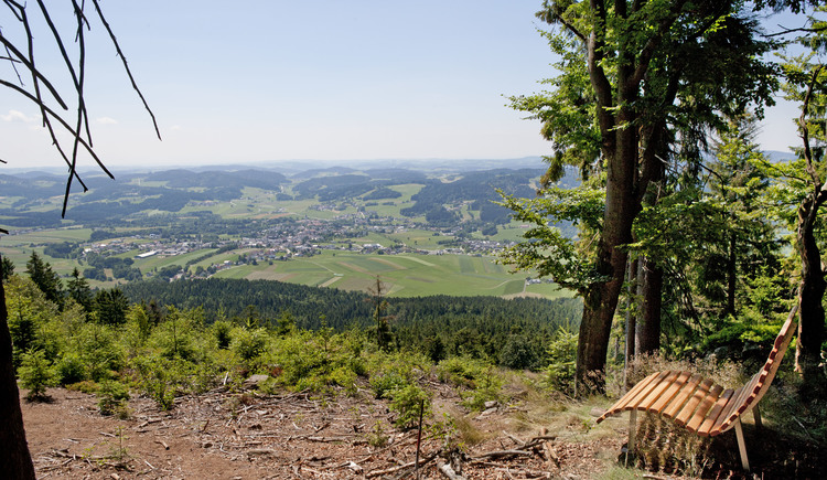 Kraftplatz Hochbuchet in der Nähe von Aigen-Schlägl. (© Ferienregion Böhmerwald)