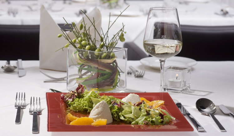 Gesund essen im Spa Hotel Bründl (© Spa Hotel Bründl)