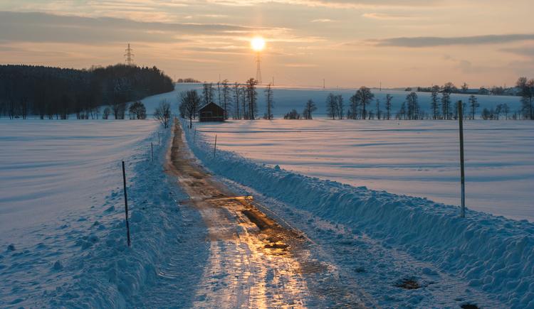 Winterlandschaft Innviertel (© Andres Mühlleitner)