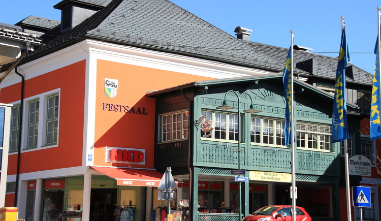 The NKD is located in the centre of Bad Goisern and offers a wide range of clothing