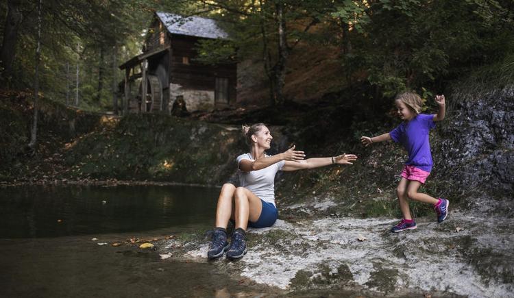 Mutter und Tochter Mühle (© (c) Größinger)