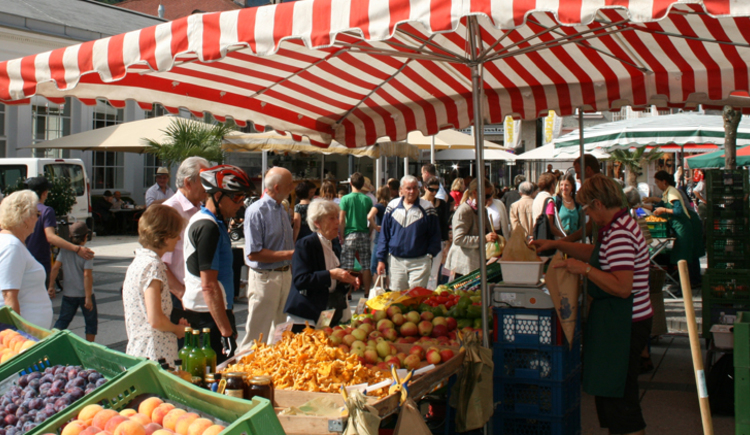 Wochenmarkt in Bad Ischl (© www.badischl.at)