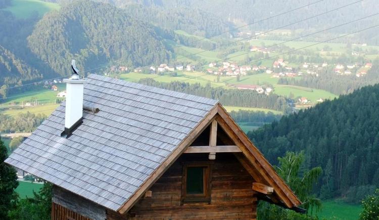 Ascher Hütte mit Aussicht (© Ascher Hütte)
