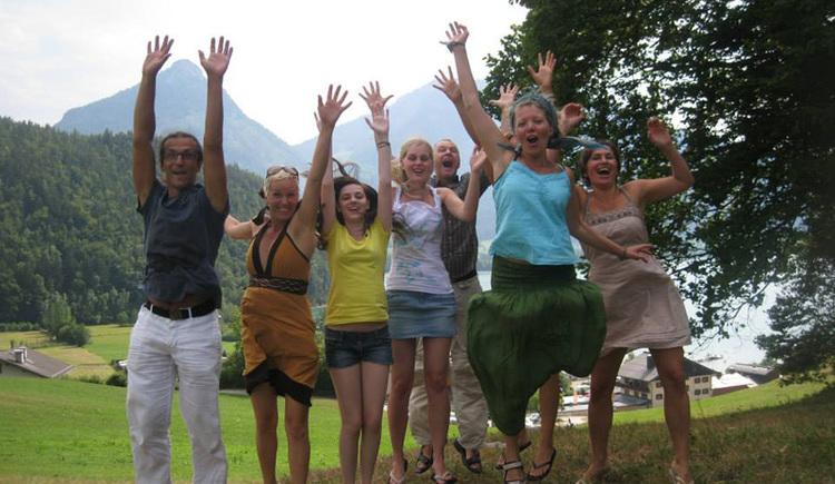 Schauspiel- und Improwochenende am Wolfgangsee (© Corinna Lenneis)