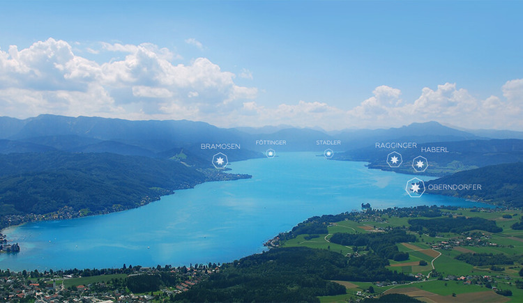 Attersee7 - die Hotelkooperation am Attersee (© Attersee7)