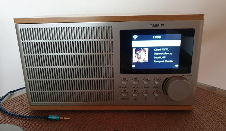 FeWo 1 - Internet Radio (© Landhaus Osborne)