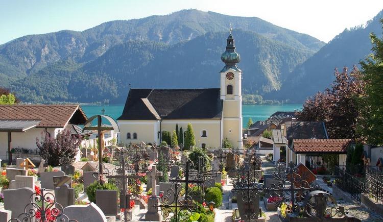 Pfarrkirche Unterach. (© TVB Attersee-Attergau, Elke Holzinger)