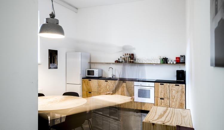 Küche im Quartier Studio Linz