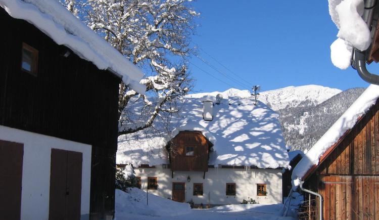 Gästehof Annerl im Winter (© Gästehof Annerl)