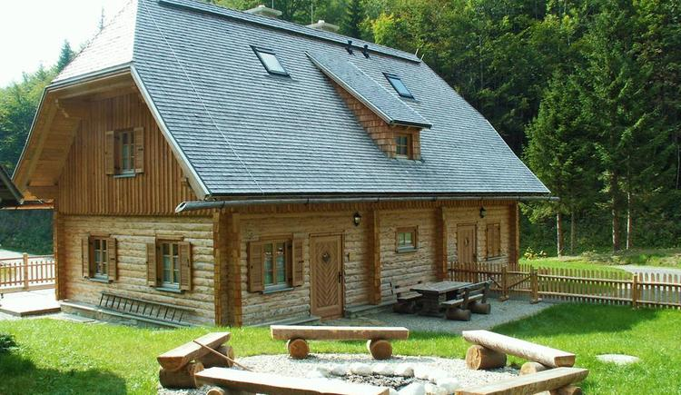 Hengstpasshütte, Lagerfeuerstelle, Nationalpark Kalkalpen, Rosenau am Hengstpass. (© NP Kalkalpen)
