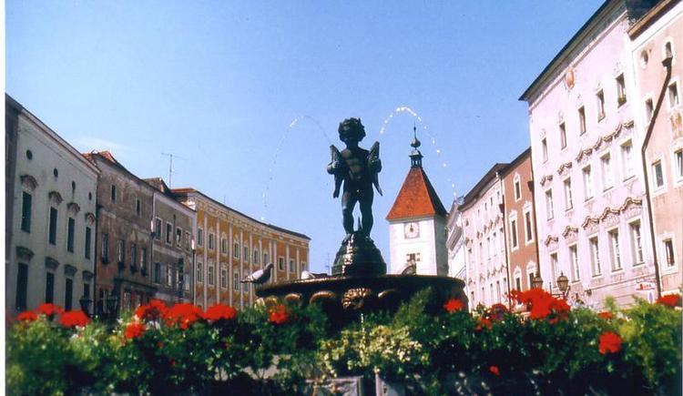 Wels: Stadtbrunnen