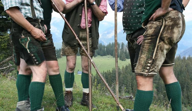 Die Lederhosen - typisch für Bad Ischl und das Salzkammergut. (© www.badischl.at)