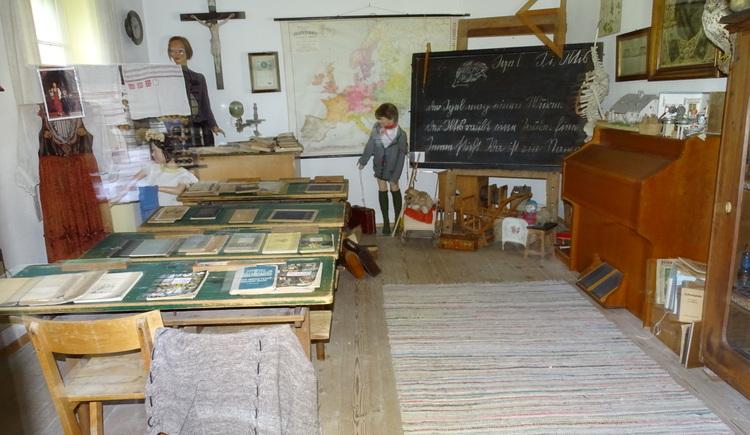 Historische Schulklasse (© Heimatverein Windischgarsten)