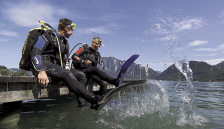 Divecenter Under Pressure - Attersee (© Erber OOE Touristik)